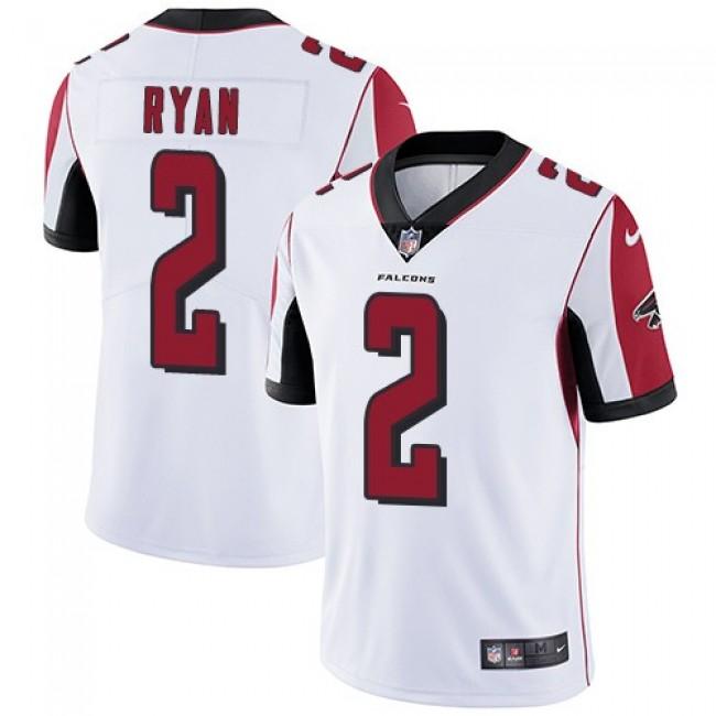 Nike Falcons #2 Matt Ryan White Men's Stitched NFL Vapor Untouchable Limited Jersey