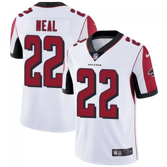 Nike Falcons #22 Keanu Neal White Men's Stitched NFL Vapor Untouchable Limited Jersey
