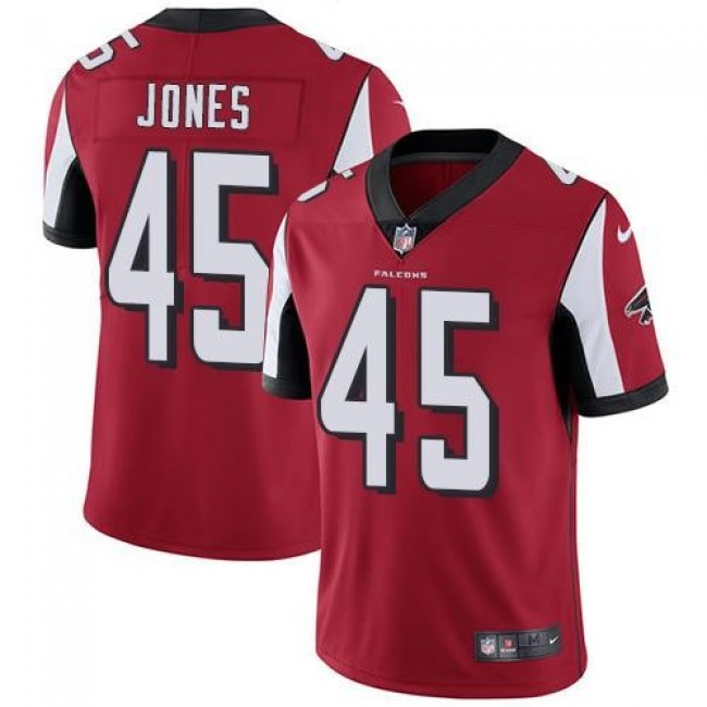 Atlanta Falcons #45 Deion Jones Red Team Color Youth Stitched NFL Vapor Untouchable Limited Jersey