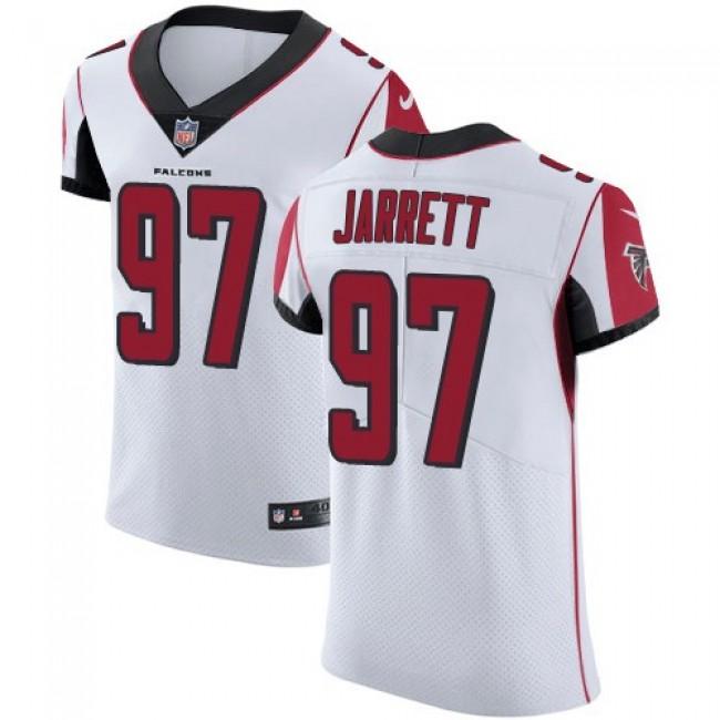 Nike Falcons #97 Grady Jarrett White Men's Stitched NFL Vapor Untouchable Elite Jersey