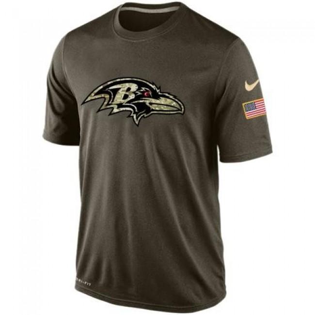 Men's Baltimore Ravens Salute To Service Nike Dri-FIT T-Shirt