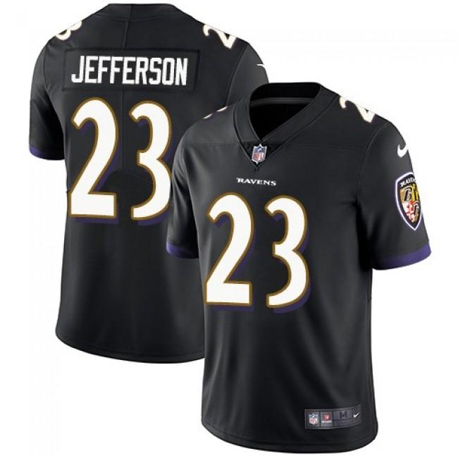 Nike Ravens #23 Tony Jefferson Black Alternate Men's Stitched NFL Vapor Untouchable Limited Jersey