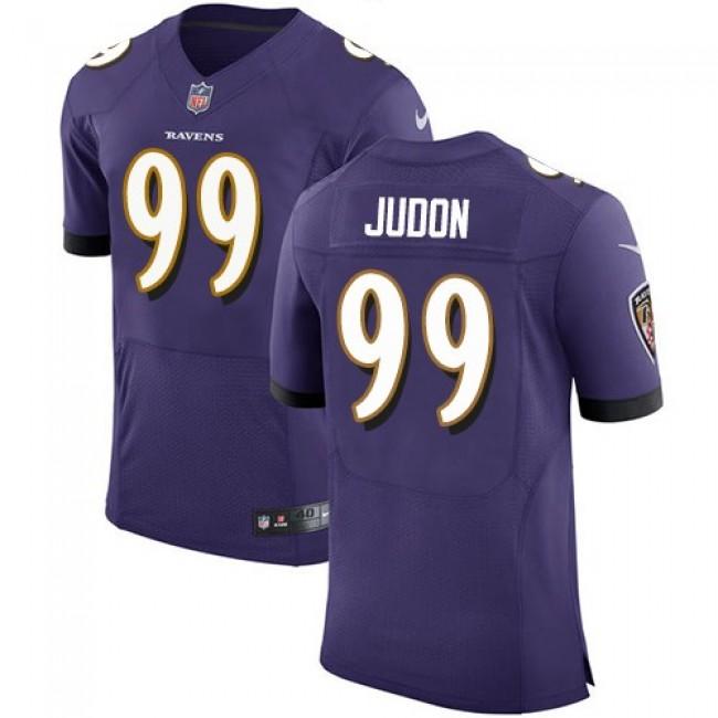 Nike Ravens #99 Matthew Judon Purple Team Color Men's Stitched NFL Vapor Untouchable Elite Jersey