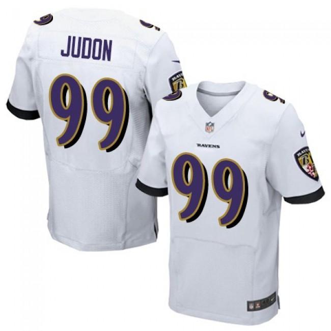 Nike Ravens #99 Matthew Judon White Men's Stitched NFL New Elite Jersey