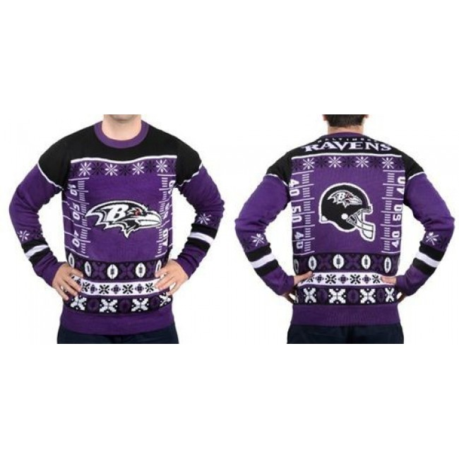Nike Ravens Men's Ugly Sweater