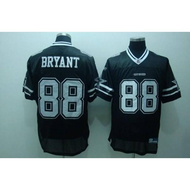 Cowboys #88 Dez Bryant Black Shadow Stitched NFL Jersey