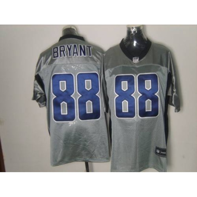 Cowboys #88 Dez Bryant Grey Shadow Stitched NFL Jersey