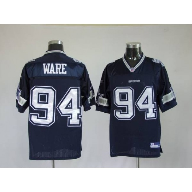 Cowboys #94 DeMarcus Ware Blue Stitched NFL Jersey