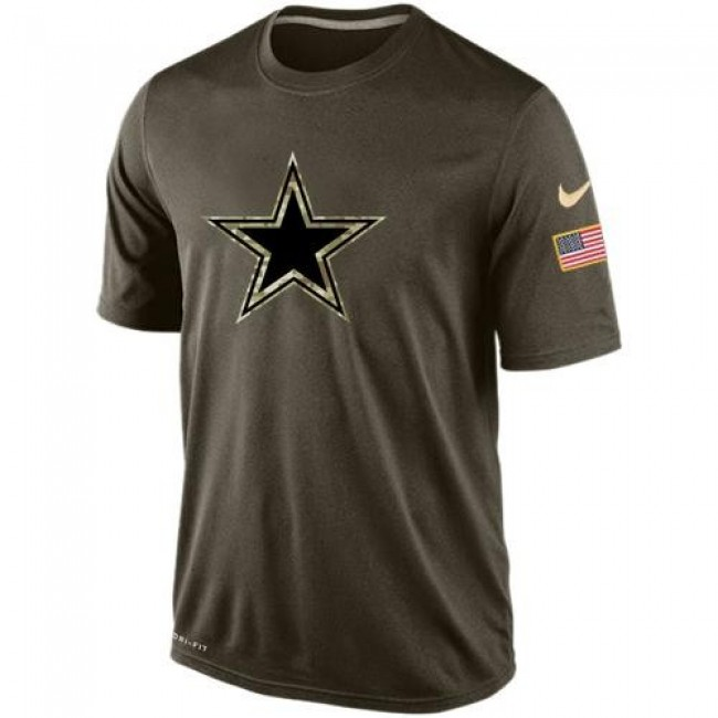 Men's Dallas Cowboys Salute To Service Nike Dri-FIT T-Shirt