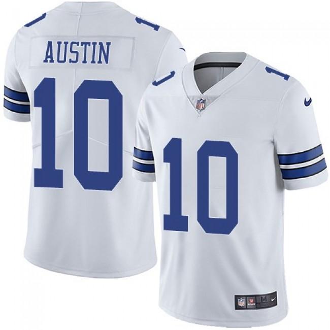 Nike Cowboys #10 Tavon Austin White Men's Stitched NFL Vapor Untouchable Limited Jersey