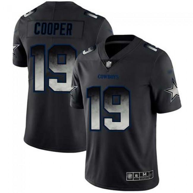 Nike Cowboys #19 Amari Cooper Black Men's Stitched NFL Vapor Untouchable Limited Smoke Fashion Jersey