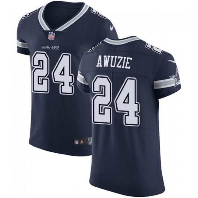 Nike Cowboys #24 Chidobe Awuzie Navy Blue Team Color Men's Stitched NFL Vapor Untouchable Elite Jersey