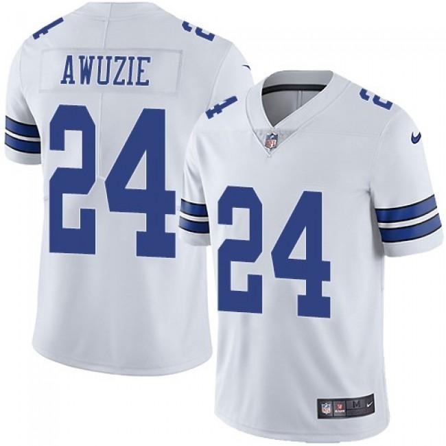 Nike Cowboys #24 Chidobe Awuzie White Men's Stitched NFL Vapor Untouchable Limited Jersey
