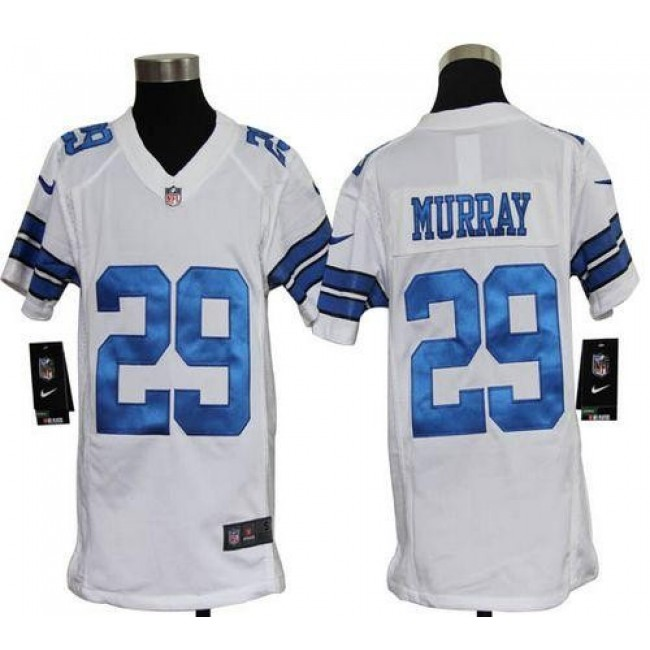 Dallas Cowboys #29 DeMarco Murray White Youth Stitched NFL Elite Jersey