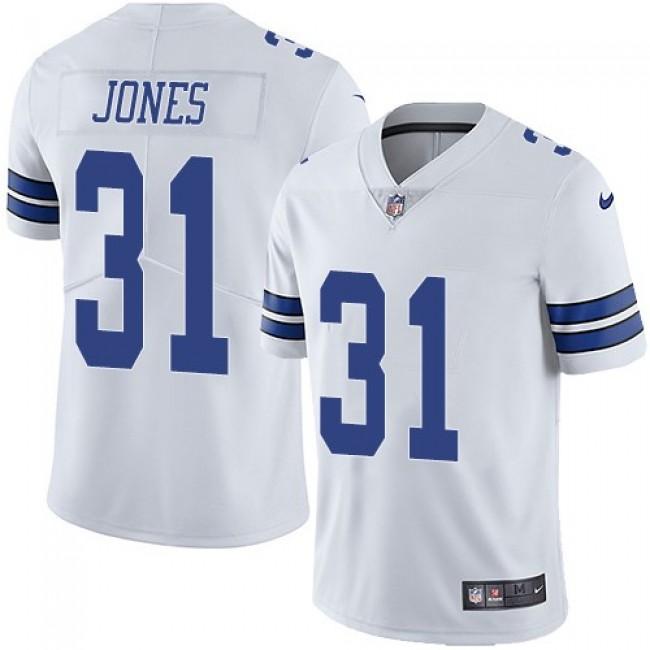 Nike Cowboys #31 Byron Jones White Men's Stitched NFL Vapor Untouchable Limited Jersey