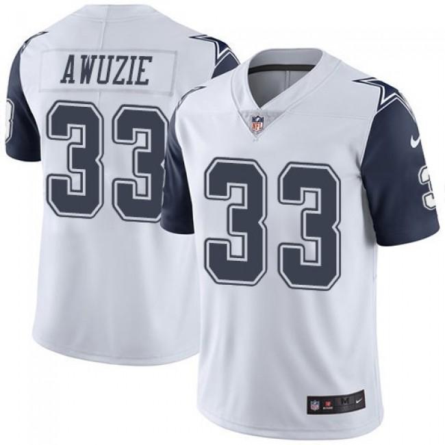 Dallas Cowboys #33 Chidobe Awuzie White Youth Stitched NFL Limited Rush Jersey