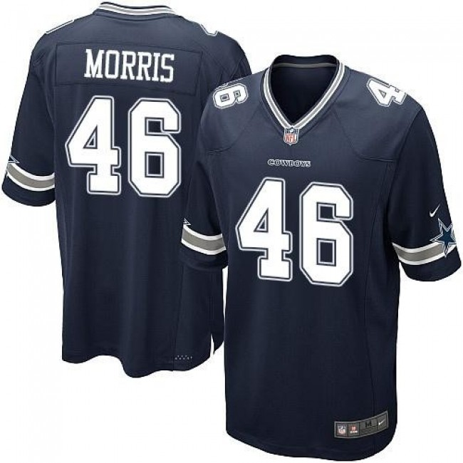Dallas Cowboys #46 Alfred Morris Navy Blue Team Color Youth Stitched NFL Elite Jersey