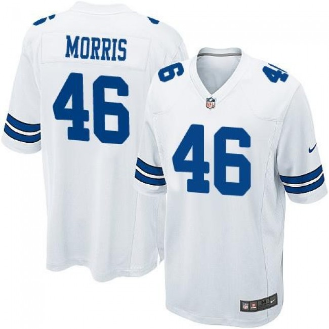 Dallas Cowboys #46 Alfred Morris White Youth Stitched NFL Elite Jersey