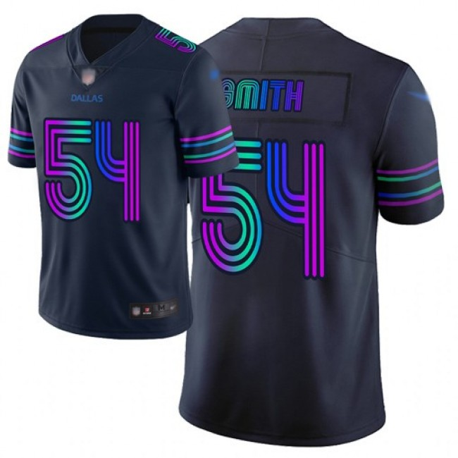 Nike Cowboys #54 Jaylon Smith Navy Men's Stitched NFL Limited City Edition Jersey