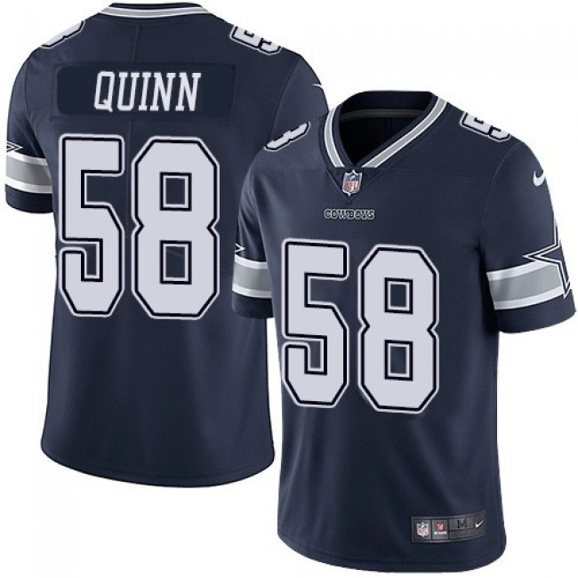 Nike Cowboys #58 Robert Quinn Navy Blue Team Color Men's Stitched NFL Vapor Untouchable Limited Jersey