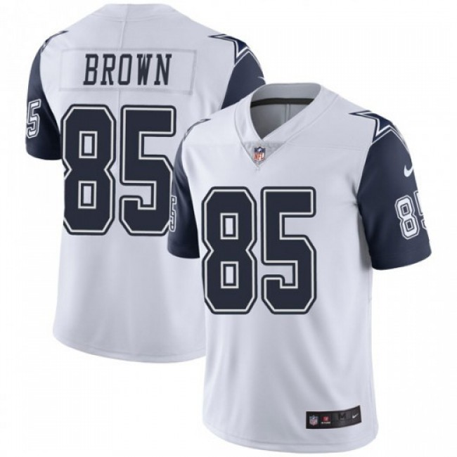 Nike Cowboys #85 Noah Brown White Men's Stitched NFL Limited Rush Jersey