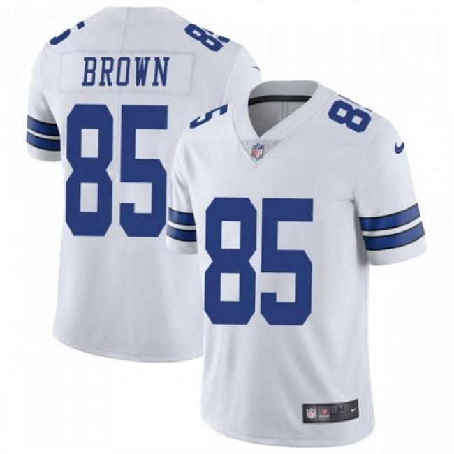 Nike Cowboys #85 Noah Brown White Men's Stitched NFL Vapor Untouchable Limited Jersey