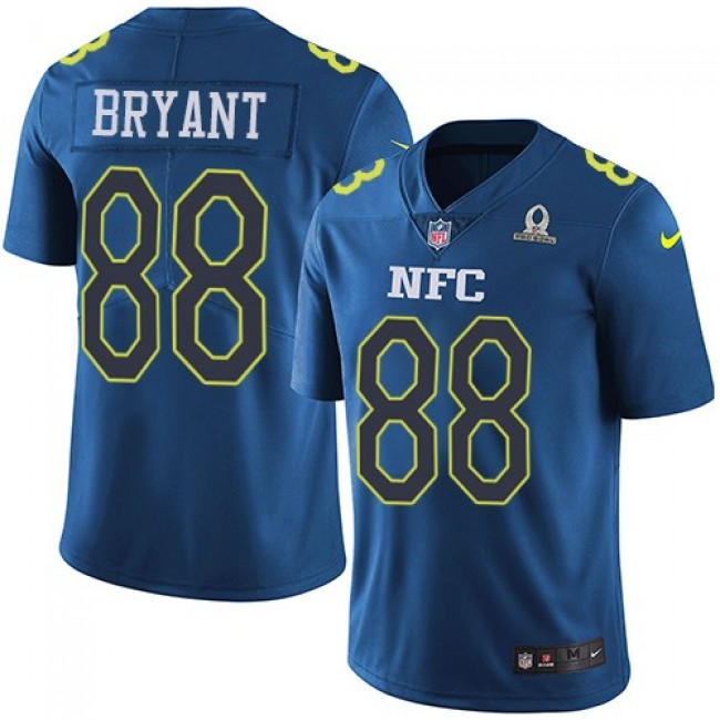 Dallas Cowboys #88 Dez Bryant Navy Youth Stitched NFL Limited NFC 2017 Pro Bowl Jersey