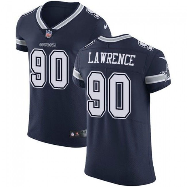 Nike Cowboys #90 Demarcus Lawrence Navy Blue Team Color Men's Stitched NFL Vapor Untouchable Elite Jersey