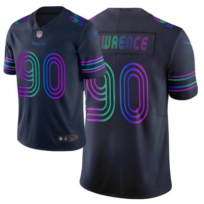 Nike Cowboys #90 Demarcus Lawrence Navy Men's Stitched NFL Limited City Edition Jersey