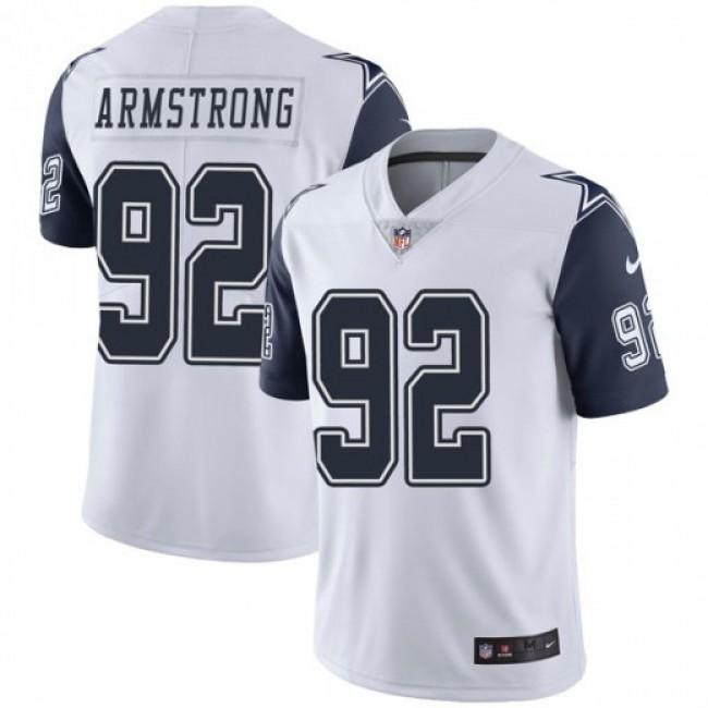 Nike Cowboys #92 Dorance Armstrong White Men's Stitched NFL Limited Rush Jersey