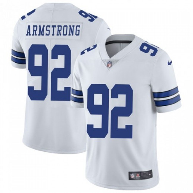 Nike Cowboys #92 Dorance Armstrong White Men's Stitched NFL Vapor Untouchable Limited Jersey