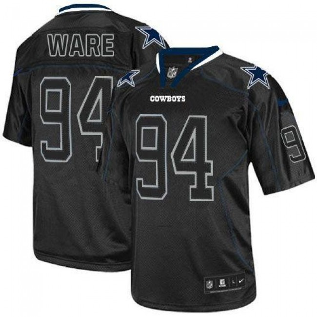 Dallas Cowboys #94 DeMarcus Ware Lights Out Black Youth Stitched NFL Elite Jersey