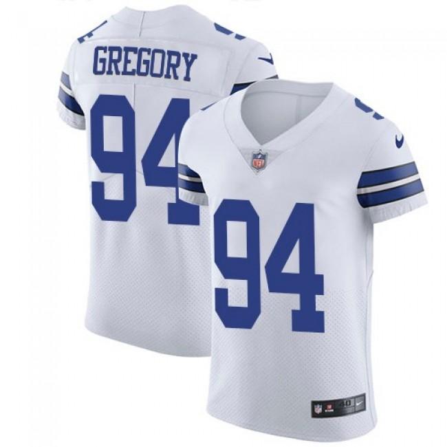 Nike Cowboys #94 Randy Gregory White Men's Stitched NFL Vapor Untouchable Elite Jersey