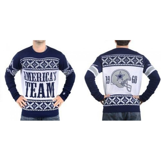 Nike Cowboys Men's Ugly Sweater