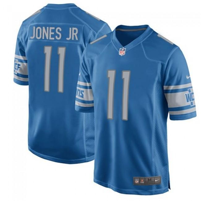 Detroit Lions #11 Marvin Jones Jr Light Blue Team Color Youth Stitched NFL Elite Jersey