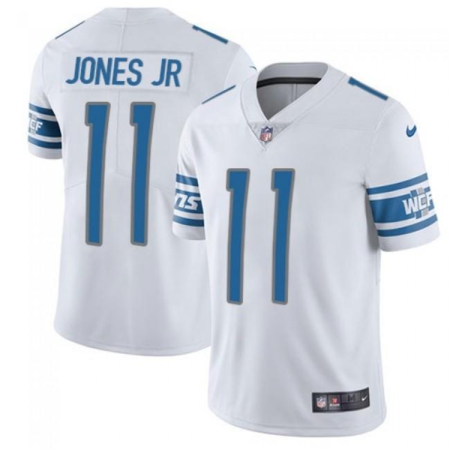 Nike Lions #11 Marvin Jones Jr White Men's Stitched NFL Vapor Untouchable Limited Jersey