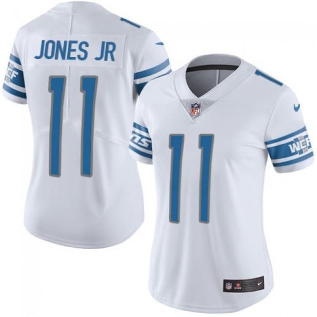 Women's Lions #11 Marvin Jones Jr White Stitched NFL Vapor Untouchable Limited Jersey