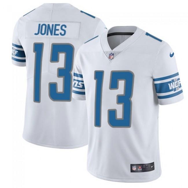 Detroit Lions #13 T.J. Jones White Youth Stitched NFL Vapor Untouchable Limited Jersey