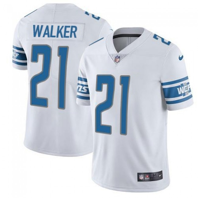 Nike Lions #21 Tracy Walker White Men's Stitched NFL Vapor Untouchable Limited Jersey