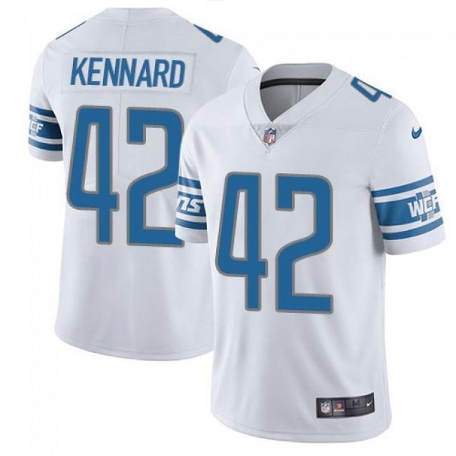 Nike Lions #42 Devon Kennard White Men's Stitched NFL Vapor Untouchable Limited Jersey