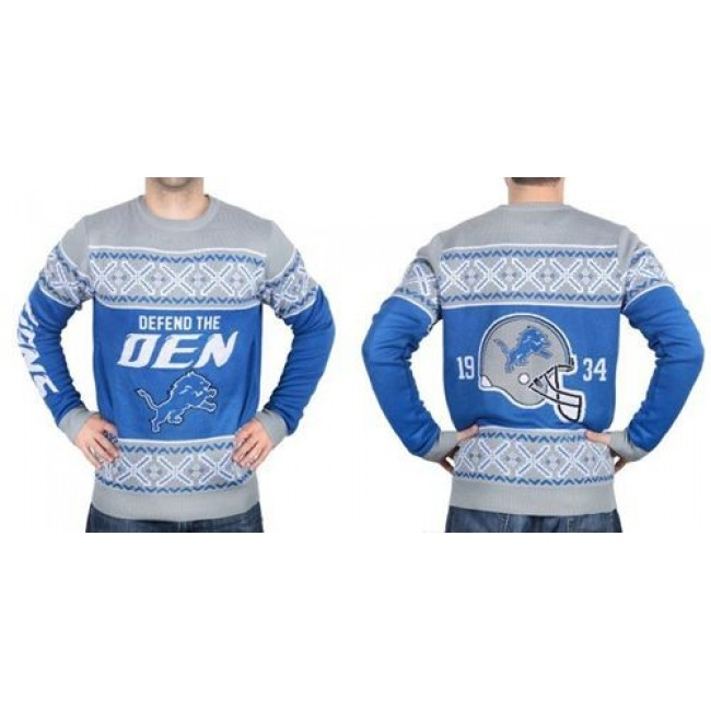 Nike Lions Men's Ugly Sweater