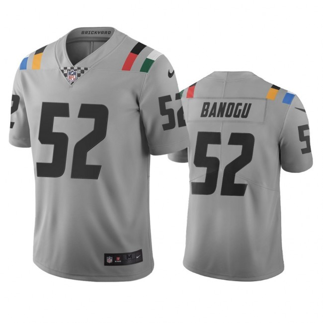 Indianapolis Colts #52 Ben Banogu Gray Vapor Limited City Edition NFL Jersey