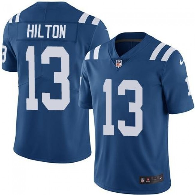 Indianapolis Colts #13 T.Y. Hilton Royal Blue Team Color Youth Stitched NFL Vapor Untouchable Limited Jersey
