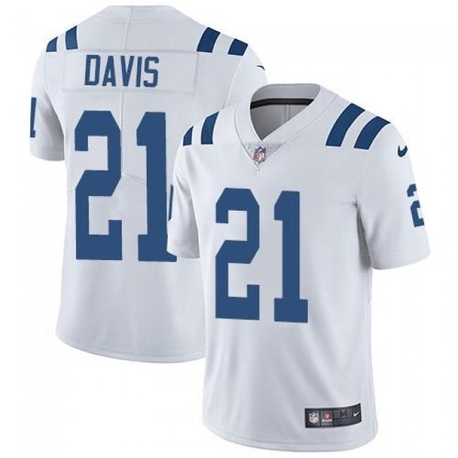 Indianapolis Colts #21 Vontae Davis White Youth Stitched NFL Vapor Untouchable Limited Jersey
