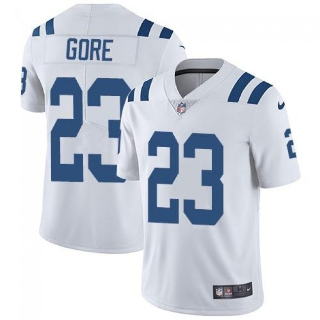 Indianapolis Colts #23 Frank Gore White Youth Stitched NFL Vapor Untouchable Limited Jersey