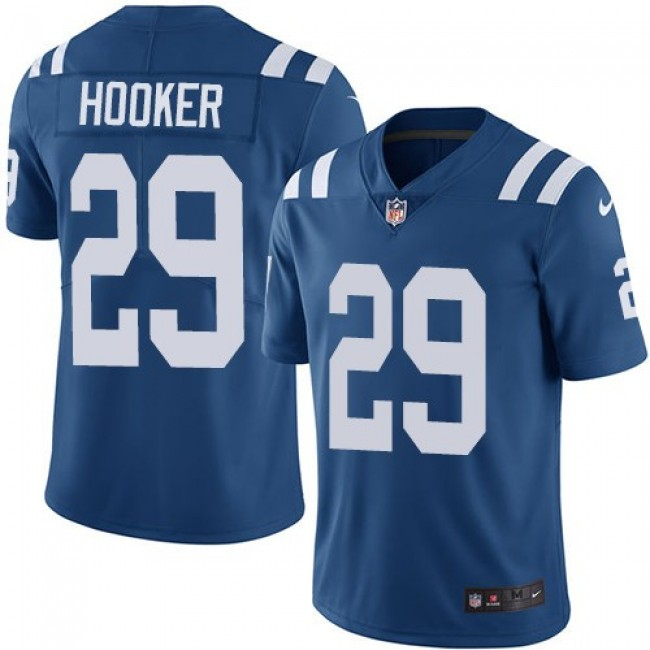 Nike Colts #29 Malik Hooker Royal Blue Team Color Men's Stitched NFL Vapor Untouchable Limited Jersey