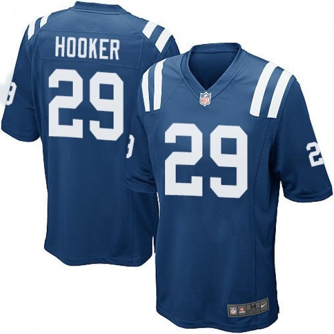 Indianapolis Colts #29 Malik Hooker Royal Blue Team Color Youth Stitched NFL Elite Jersey