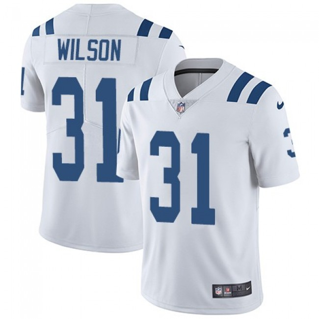 Nike Colts #31 Quincy Wilson White Men's Stitched NFL Vapor Untouchable Limited Jersey