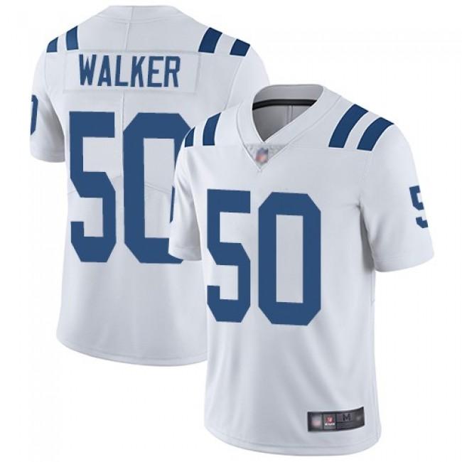 Nike Colts #50 Anthony Walker White Men's Stitched NFL Vapor Untouchable Limited Jersey