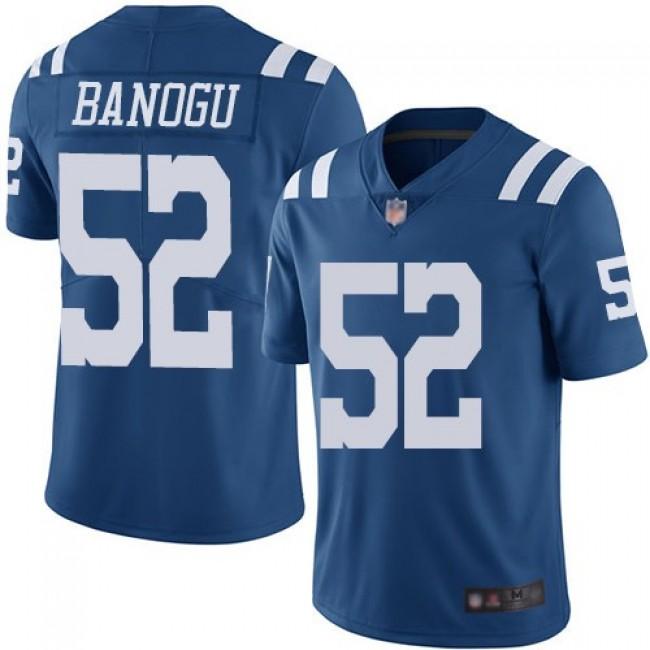 Nike Colts #52 Ben Banogu Royal Blue Men's Stitched NFL Limited Rush Jersey